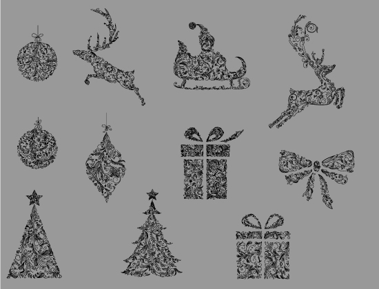 Christmas Vector Pack 10 2