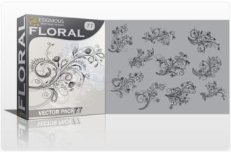 Floral Vector Pack 77 Floral [tag]