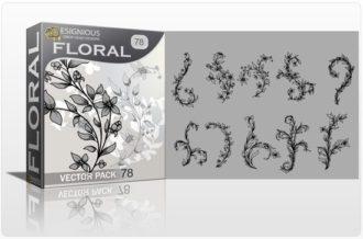Floral Vector Pack 78 Floral floral