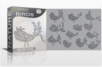Birds Vector Pack 5 Nature birds