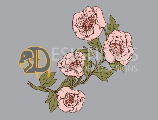 Japanese Flowers Vector Pack 1 products japanese flowers pack preview 2