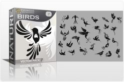 Free Birds Vector Pack 7 Freebies TELLER