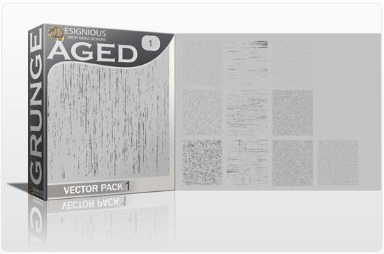 Grunge Vector Pack 1 Halftones & grunges [tag]