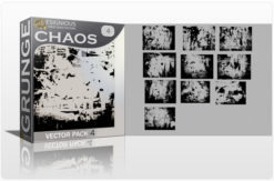 Grunge Chaos Vector Pack 4 Halftones & grunges [tag]