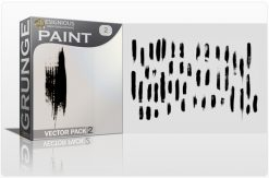 Paint Vector Pack 2 Halftones & grunges [tag]