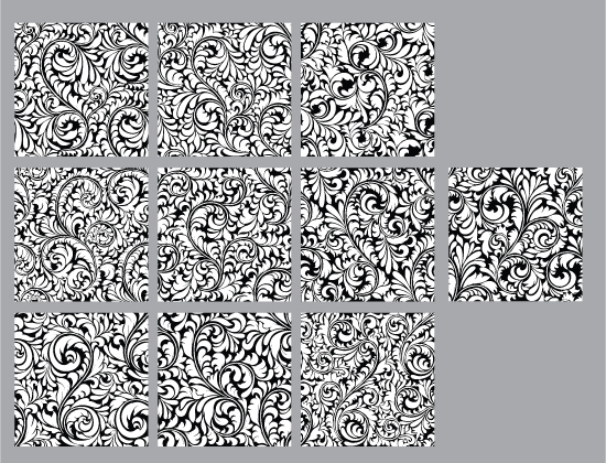 Seamless Patterns Vector Pack 34 Vector Patterns [tag]