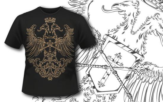 T-shirt design 332 - Vintage Griffin products designious t shirt design 332 1