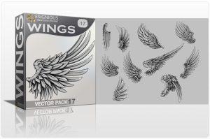 Wings Vector Pack 17 Wings wing