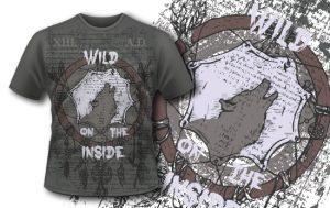 T-shirt design 368 – Dreamcatcher T-shirt designs and templates vector