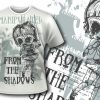 T-shirt design 376 - Reinforced Skull products designious t shirt design 375