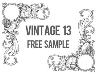 Vintage Mega Pack 13 Free Sample Freebies kjhgfds
