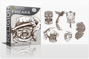 Freaks Vector Pack 1 Religion [tag]