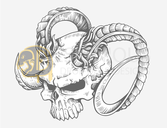 Skulls Vector Pack 23 products designious skulls vector pack 23 preview 3