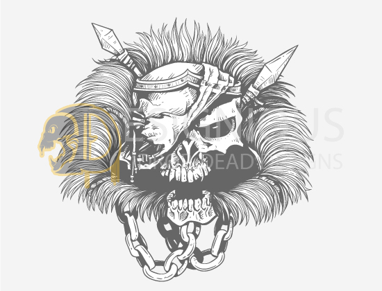 Skulls Vector Pack 23 products designious skulls vector pack 23 preview 4