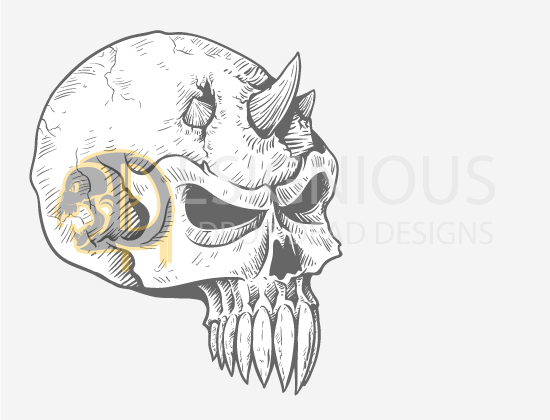Skulls Vector Pack 23 products designious skulls vector pack 23 preview 6
