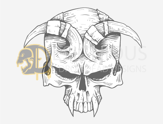 Skulls Vector Pack 23 products designious skulls vector pack 23 preview 7