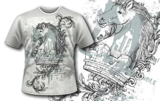 Free t-shirt design - Steed and Crown products designious t shirt design free 2