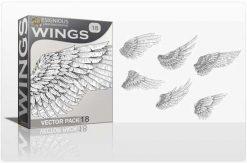Wings Vector Pack 18 Wings wings