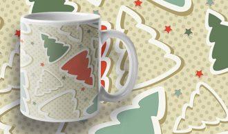 Free Christmas Seamless Pattern Freebies vector