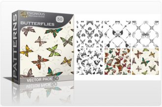Seamless Patterns Vector Pack 50 Vector Patterns [tag]