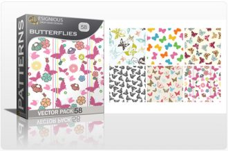Seamless Patterns Vector Pack 58 Vector Patterns [tag]