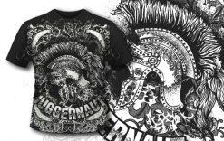 T-shirt design 390 – Roman Helmet T-shirt designs and templates vector