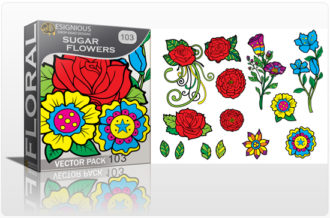 Full library Pricing products designious sugar skulls vector pack 10 preview 1 1