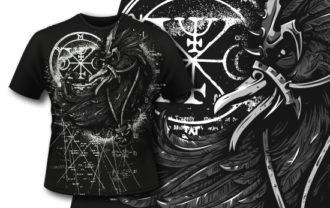T-shirt Design 409 – Caladius T-shirt Designs and Templates vector