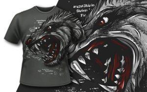 T-shirt Design 415 T-shirt designs and templates vector