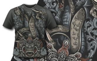 T-shirt Design 417 T-shirt Designs and Templates vector