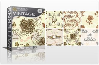 Seamless Patterns Vector Pack 80 Vector Patterns [tag]