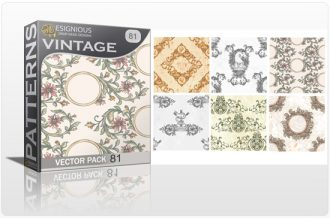 Seamless Patterns Vector Pack 81 Vector Patterns [tag]