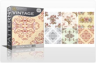 Seamless Patterns Vector Pack 85 Vector Patterns [tag]