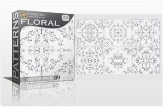 Seamless Patterns Vector Pack 89 Vector Patterns MOUSA