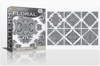 Seamless Patterns Vector Pack 90 Vector Patterns [tag]