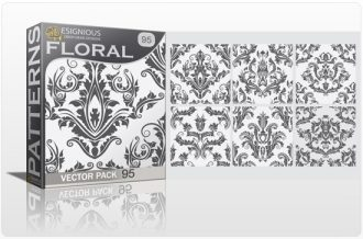 Seamless Patterns Vector Pack 95 Vector Patterns [tag]
