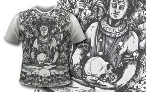 T-shirt Design 425 T-shirt designs and templates vector
