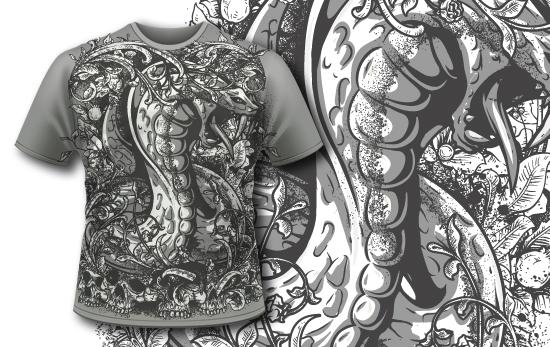 T-shirt Design 428 T-shirt Designs and Templates vector