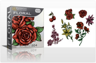 Floral Vector Pack 104 Floral [tag]