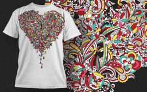 T-shirt Design 433 T-shirt designs and templates vector