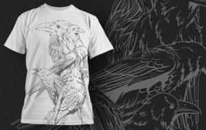 T-shirt Design 434 T-shirt designs and templates vector