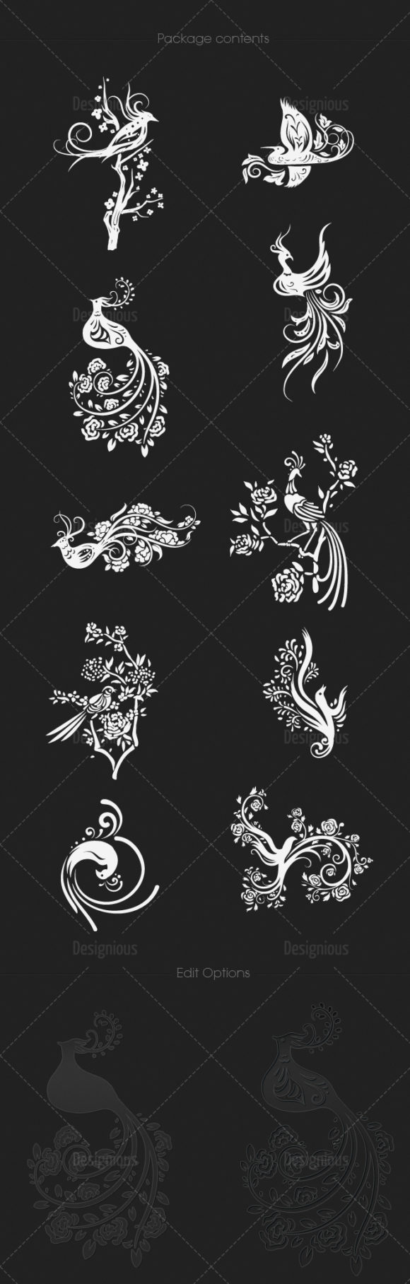 Chinese Birds Vector Pack 1 products designious chinese birds vector pack 1 large 1