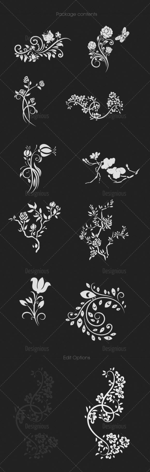 Chinese Ornaments Vector Pack 1 Oriental Art [tag]