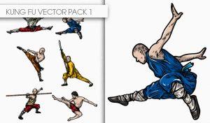 Kung Fu Vector Pack 1 Oriental Art [tag]
