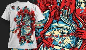 T-shirt Design 440 T-shirt designs and templates vector