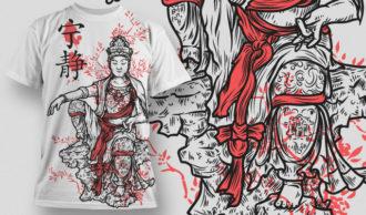 T-shirt Design 443 T-shirt Designs and Templates vector