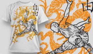T-shirt Design 446 T-shirt designs and templates vector
