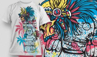 T-shirt Design 453 T-shirt Designs and Templates vector