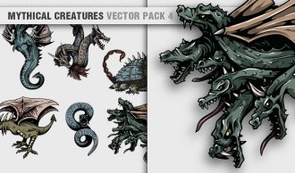 Mythical Creatures Vector Pack 4 Religion [tag]