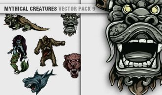 Mythical Creatures Vector Pack 9 Religion [tag]